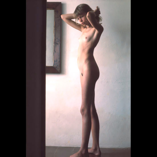 Nude photo art model