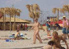 Nude babes caught on wild beach by voyeur photographer