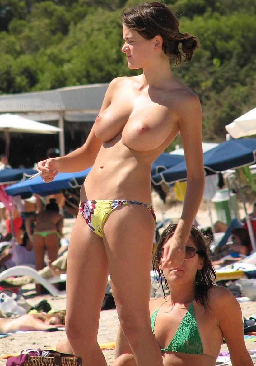 Girls wearing micro thong bikini pity, that