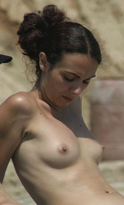 Perky tits with hard nipples are definitely the first thing you will notice on her